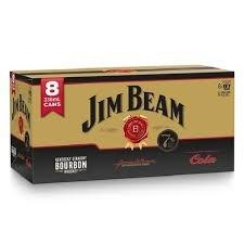 JIM BEAM GOLD 7% 8PK CAN 330ml JIM BEAM GOLD 7% 8PK CAN 330ml
