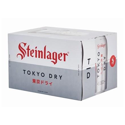 STEINLAGER TOKYO DRY 12PK 500ML CANS STEINLAGER TOK 12CAN 500ML