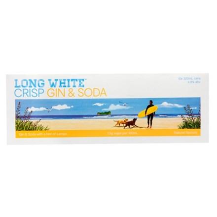 LONG WHITE Lemon 10PK CANS long white lemon 10pk can
