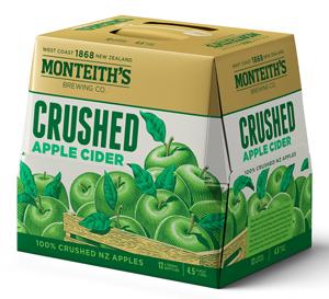 Monteiths Crushed Apple Cider Monteiths Crushed Apple Cider
