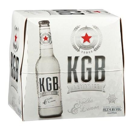 KGB 4.8% 12PK btls KGB 4.8% 12PK bottles